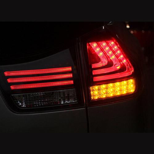 LUMINAIRES RUSH BLACK LED